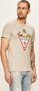 T-shirt Guess Jeans z bawełny z krótkim rękawem