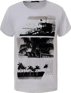 T-shirt Glo-Story w młodzieżowym stylu z bawełny