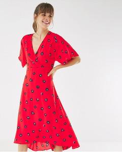 Sukienka MEXX z dekoltem w kształcie litery v midi
