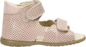 Buty dziecięce letnie EMEL ze skóry dla dziewczynek