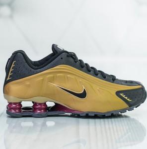 Brązowe buty sportowe dziecięce Nike sznurowane