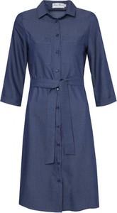 Sukienka Kasia Miciak design szmizjerka z długim rękawem