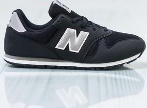 Granatowe buty sportowe New Balance 373 w sportowym stylu z płaską podeszwą