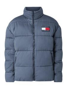 Niebieska kurtka Tommy Jeans z bawełny w stylu casual