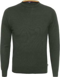 Zielony sweter K-Way w stylu casual