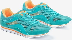 Turkusowe buty sportowe Royalfashion.pl sznurowane