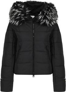 Czarna kurtka Silvian Heach w stylu casual