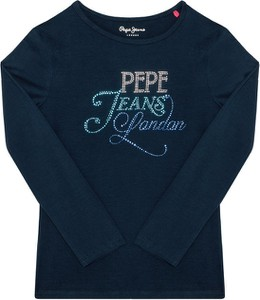 Bluzka dziecięca Pepe Jeans z długim rękawem