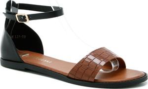 Sandały T.sokolski w stylu casual ze skóry