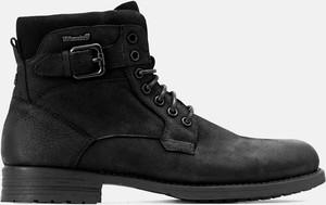 Czarne buty zimowe Kazar w stylu casual