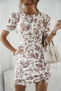 Sukienka Shopaholics Dream z okrągłym dekoltem