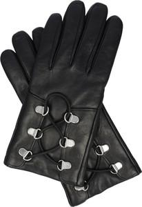 Rękawiczki Hugo Boss ze skóry