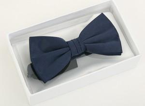 Granatowa mucha krawatikoszula.pl w elegenckim stylu