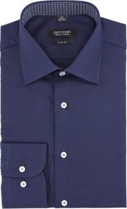 Granatowa koszula Recman