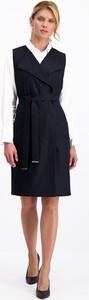 Sukienka Lavard z długim rękawem z wełny