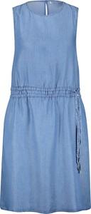 Niebieska sukienka Gerry Weber w stylu casual bez rękawów