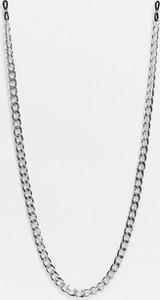 ASOS DESIGN – Metalowy łańcuszek do okularów przeciwsłonecznych w kolorze srebrnym