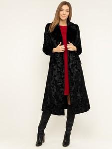 Czarny płaszcz Luisa Spagnoli