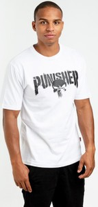T-shirt Marvel z żakardu z krótkim rękawem