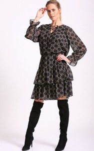 Sukienka Agrafka z długim rękawem
