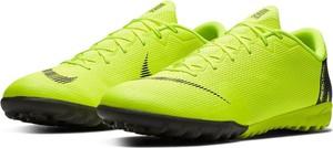 Zielone buty sportowe Nike ze skóry