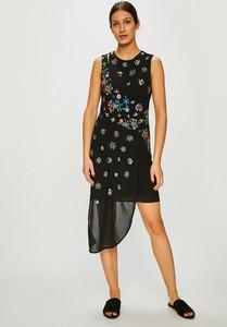 Czarna sukienka Desigual mini