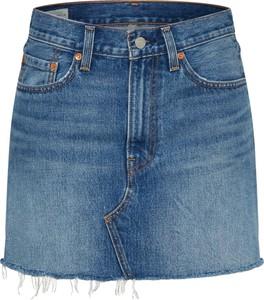 Niebieska spódnica Levis mini
