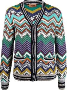 Niebieski sweter Missoni z wełny