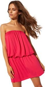 Różowa sukienka CAHA