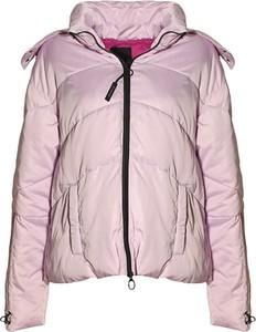 Różowa kurtka Pinko krótka w stylu casual