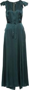 Sukienka bonprix RAINBOW z krótkim rękawem maxi