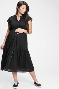 Gap Sukienka ciążowa w kolorze czarnym