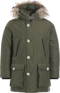 Zielona kurtka dziecięca Woolrich
