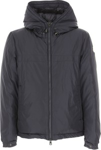 Granatowa kurtka Moncler w stylu casual
