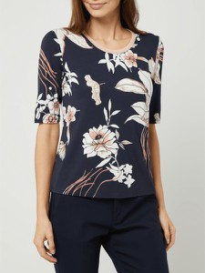 Granatowa bluzka Betty Barclay z krótkim rękawem
