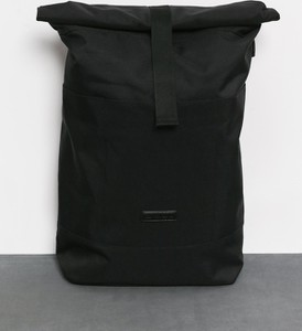 Czarny plecak męski Ucon Acrobatics ze skóry