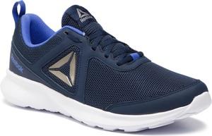 Niebieskie buty sportowe Reebok w sportowym stylu