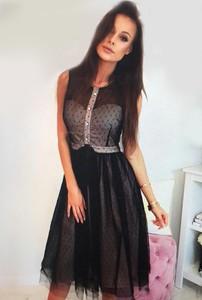 11bf1d3d28 sukienka czarna tiul - stylowo i modnie z Allani