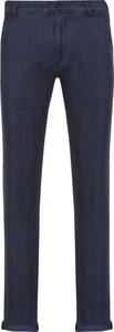 Chinosy Karl Lagerfeld z bawełny w stylu casual