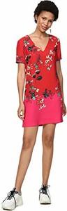 Sukienka amazon.de mini z dekoltem w kształcie litery v trapezowa