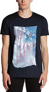 Czarny t-shirt Minted Travel
