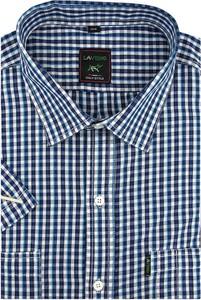 Koszula Laviino z krótkim rękawem w stylu casual z bawełny