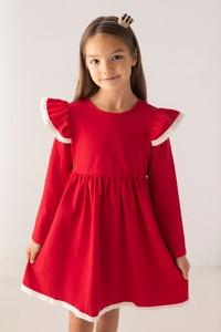 Czerwona sukienka dziewczęca Myprincess / Lily Grey