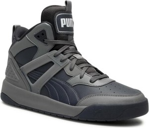 Buty zimowe Puma w sportowym stylu sznurowane