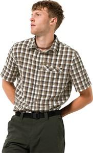 Brązowa koszula Jack Wolfskin z tkaniny