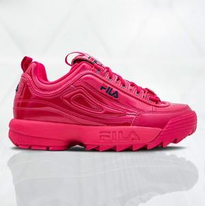 Sneakersy Fila z płaską podeszwą