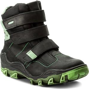 Buty dziecięce zimowe kornecki z nubuku