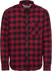 Czerwona koszula Tom Tailor z długim rękawem