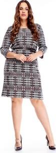 Sukienka TAGLESS z okrągłym dekoltem w stylu casual mini
