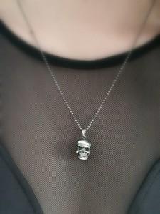 Venus Galeria Wisiorek srebrny - Czaszka mała